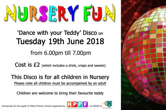 nursery disco flyer jun18