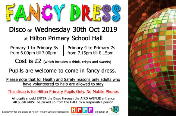 fancy dress disco 2019