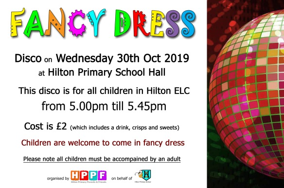 nursery disco flyer oct19