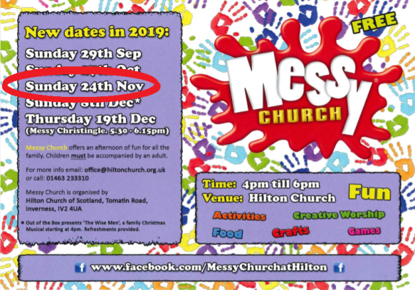 NOV Messy Church